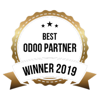 Winner of Best Odoo Partner award